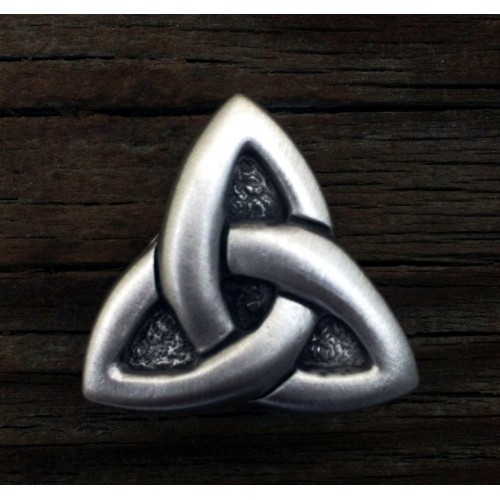 Celtic Triquetra Pewter Concho at Jewelry Gem Shop,  Sterling Silver Jewerly | Gemstone Jewelry | Unique Jewelry