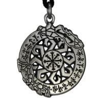 Invincibilty in Battle Norse Asatru Rune Pendant