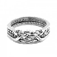 4 Band Twist Turkish Puzzle Ring
