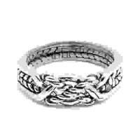 4 Band Twist Turkish Puzzle Ring Jewelry Gem Shop  Sterling Silver Jewerly | Gemstone Jewelry | Unique Jewelry