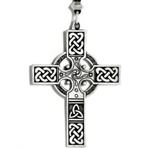Celtic Cross Necklace - Large at Jewelry Gem Shop,  Sterling Silver Jewerly | Gemstone Jewelry | Unique Jewelry