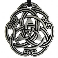 Celtic Peace Knot Pewter Necklace Jewelry Gem Shop  Sterling Silver Jewerly | Gemstone Jewelry | Unique Jewelry