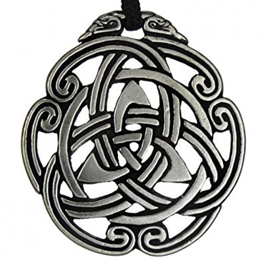 Celtic peace knot pewter necklace celtic knotwork pewter pendant celtic peace knot pewter necklace at jewelry gem shop sterling silver jewerly gemstone jewelry biocorpaavc Image collections