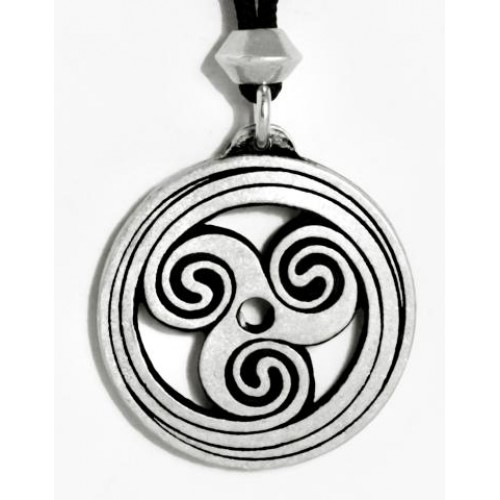 Celtic Spiral Pewter Necklace at Jewelry Gem Shop,  Sterling Silver Jewerly | Gemstone Jewelry | Unique Jewelry