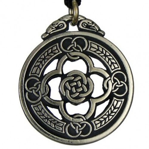 Celtic Knot Warrior Shield Protection Necklace at Jewelry Gem Shop,  Sterling Silver Jewerly | Gemstone Jewelry | Unique Jewelry