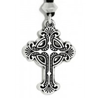 Baroque Celtic Cross Necklace Jewelry Gem Shop  Sterling Silver Jewerly | Gemstone Jewelry | Unique Jewelry