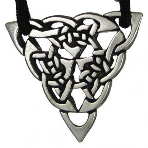 Triquetra Celtic Triple Knot Pewter Necklace at Jewelry Gem Shop,  Sterling Silver Jewerly | Gemstone Jewelry | Unique Jewelry