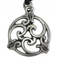 Triscele Celtic Spiral Pewter Necklace in 2 Sizes Jewelry Gem Shop  Sterling Silver Jewerly | Gemstone Jewelry | Unique Jewelry