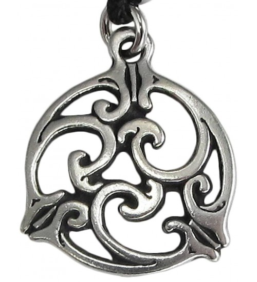 Triscele Celtic Spiral Pewter Necklace in 2 Sizes at Jewelry Gem Shop,  Sterling Silver Jewerly | Gemstone Jewelry | Unique Jewelry