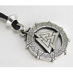 The Valknut Viking Rune Necklace at Jewelry Gem Shop,  Sterling Silver Jewerly | Gemstone Jewelry | Unique Jewelry
