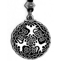 Yggdrasil Viking World Tree Necklace