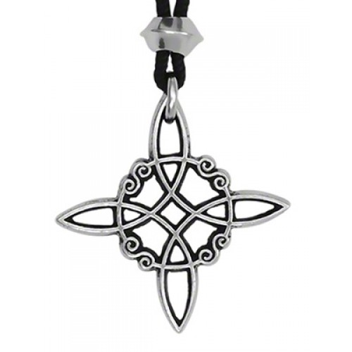 Witches Knot Pewter Power and Protection Pendant at Jewelry Gem Shop,  Sterling Silver Jewerly   Gemstone Jewelry   Unique Jewelry