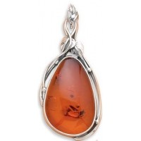 Baltic Amber Extra Large Pendant Jewelry & Gem Shop  Sterling Silver Jewerly | Gemstone Jewelry | Unique Jewelry