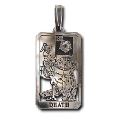 Death Small Tarot Pendant