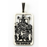The Emperor Small Tarot Pendant Jewelry Gem Shop  Sterling Silver Jewerly | Gemstone Jewelry | Unique Jewelry