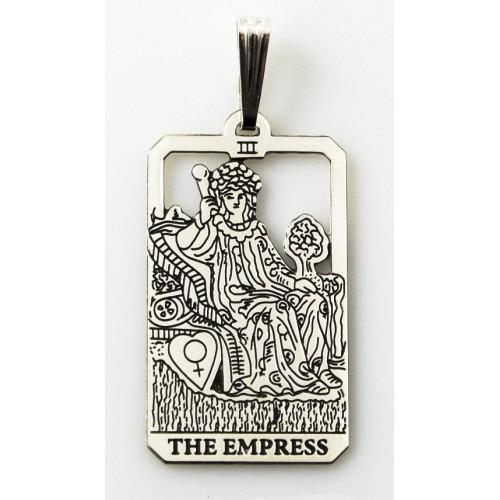 The Empress Small Tarot Pendant