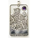 Empress Large Gemstone Tarot Pendant at Jewelry Gem Shop,  Sterling Silver Jewerly | Gemstone Jewelry | Unique Jewelry