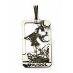 The Fool Small Tarot Pendant at Jewelry Gem Shop,  Sterling Silver Jewerly | Gemstone Jewelry | Unique Jewelry