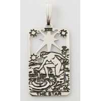 The Star Small Tarot Pendant