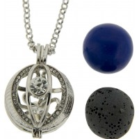 Evil Eye Harmony Gemstone Holder Pendant