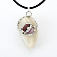 Goddess Gemdrop Crystal Pendant Jewelry Gem Shop  Sterling Silver Jewerly | Gemstone Jewelry | Unique Jewelry