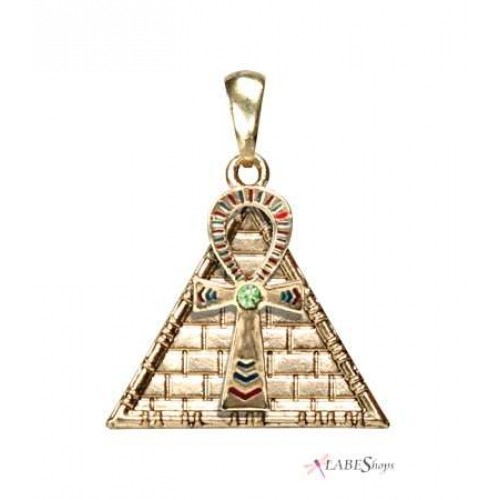 Ankh Pyramid Egyptian Necklace at Jewelry Gem Shop,  Sterling Silver Jewerly | Gemstone Jewelry | Unique Jewelry