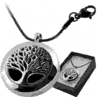 Tree of Life Aromatherapy Locket Necklace Jewelry Gem Shop  Sterling Silver Jewerly | Gemstone Jewelry | Unique Jewelry
