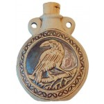 Raven Raku Oil Bottle Necklace at Jewelry Gem Shop,  Sterling Silver Jewerly | Gemstone Jewelry | Unique Jewelry