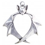 Nights Guardian Bat Necklace at Jewelry Gem Shop,  Sterling Silver Jewerly | Gemstone Jewelry | Unique Jewelry