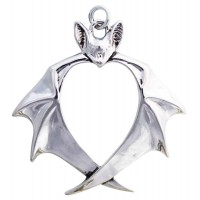 Nights Guardian Bat Necklace Jewelry Gem Shop  Sterling Silver Jewerly | Gemstone Jewelry | Unique Jewelry