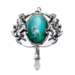 Forest Enchanted Unicorn Cameo by Anne Stokes at Jewelry Gem Shop,  Sterling Silver Jewerly | Gemstone Jewelry | Unique Jewelry
