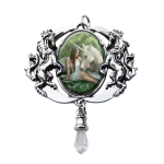 Pure Heart Enchanted Unicorn Cameo by Anne Stokes at Jewelry Gem Shop,  Sterling Silver Jewerly | Gemstone Jewelry | Unique Jewelry