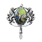 Realm of Enchantment Unicorn Cameo by Anne Stokes at Jewelry Gem Shop,  Sterling Silver Jewerly | Gemstone Jewelry | Unique Jewelry