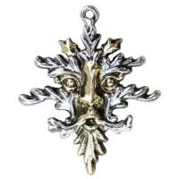Spirit of Arden Greenman Pewter Necklace
