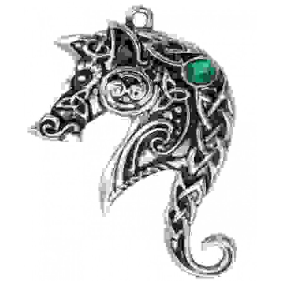 Lyonesse horse celtic necklace aloadofball Image collections