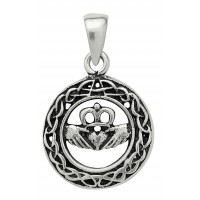 Celtic Claddagh Sterling Silver Pendant for Love Jewelry & Gem Shop  Sterling Silver Jewerly | Gemstone Jewelry | Unique Jewelry