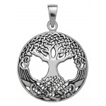 Druid Tree of LIfe Sterling Silver Pendant at Jewelry Gem Shop,  Sterling Silver Jewerly | Gemstone Jewelry | Unique Jewelry