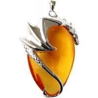 Basking Draca Crystal Keeper Dragon Necklace Jewelry Gem Shop  Sterling Silver Jewerly | Gemstone Jewelry | Unique Jewelry